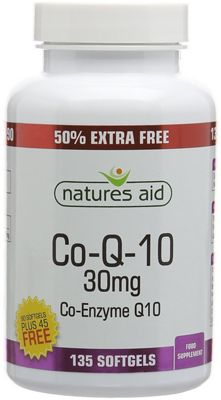 Natures Aid CO-Q-10 (Co Enzyme Q10) 30mg - 135 Softgels