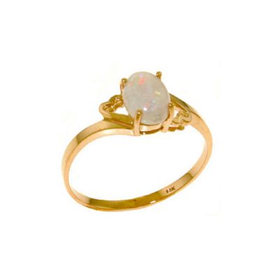 QP Jewellers 0.45ct Opal Classic Desire Ring in 14K Rose Gold - Size S 1/2