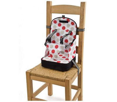 Polar Gear Child Portable Booster Seat (Black with Large Spots)