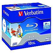 Verbatim Blu-ray BD-R 25GB 10 Pack