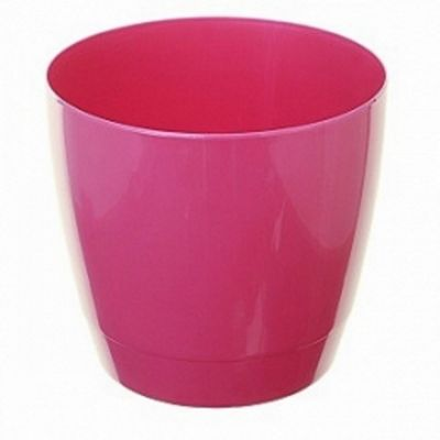 Whitefurze Indoor Round 14cm Fuchsia Pot
