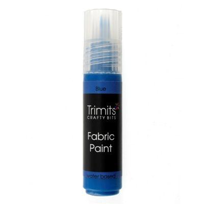 Trimits Fabric Paint Pen Blue 20ml