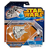 Rebel Snowspeeder Star Wars Hot Wheels Vehicle