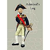 Holy Mackerel Notebook- Admiral's Log