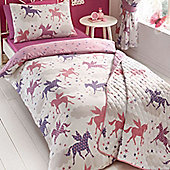 Unicorns and Stars Single Bedding