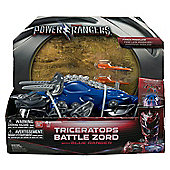 Power Rangers Movie Triceratops Battle Zord with Blue Ranger #42562