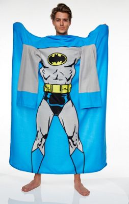 Batman Muscle Print Blue Lounger