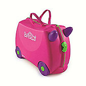Trixie Trunki Kids' Ride-On Suitcase, Pink