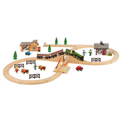 Brio Flying Scotsman Train Set, wooden toy
