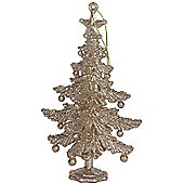 Gold Christmas Tree Decoration