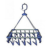 Aluminium Clothes Hanger(33x33) - 20 pegs