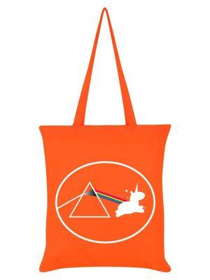 Creating Unicorns Orange Tote Bag 38x42cm