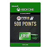 FIFA 18: Ultimate Team FIFA Points 500 DIGITAL CARDS (Digital Download Code)