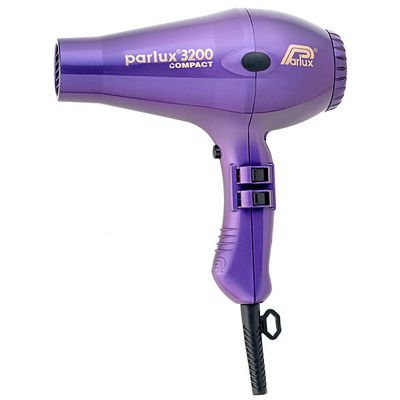 Parlux 3200 Compact 1900W Hair Dryer, Purple
