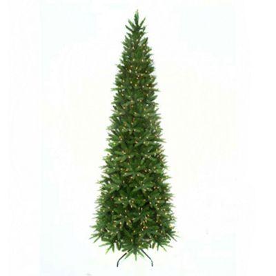 Buy 8ft Aspen Pine Luxury Pre-Lit Premium PE Slim ...