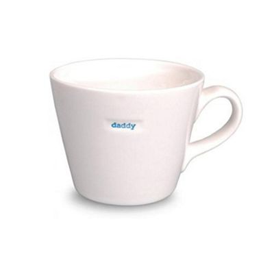 Keith Brymer Jones White Ceramic 'Daddy' Bucket Mug