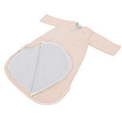 Purflo Jersey Cotton/Bamboo lining Baby Sleepsac 2.5 TOG 3-9 mths French Pink