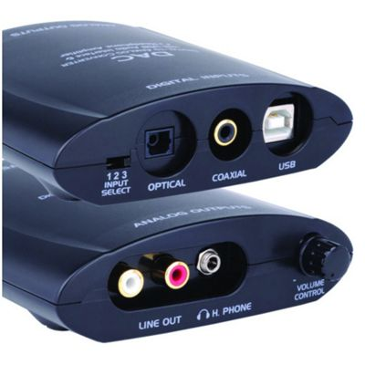 Digital-to-Analogue Audio Convertor