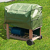 Durable Waterproof Outdoor Trolley BBQ Cover