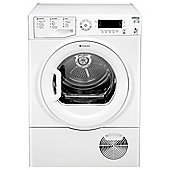 Hotpoint Ultima S-Line Condenser Tumble Dryer, SUTCD GREEN 9A1 - White