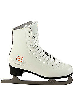 Xcess Princess Leather Ice Skates - White