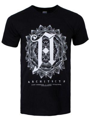 Architects Mandala Men's T-shirt, Black.
