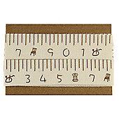 Ribbon Matchbook - Patterned Tape Measure Ribbon - Centimetres