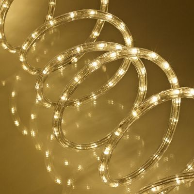 Buy 8m warm white led rope light from our all christmas range tesco 8m warm white led rope light mozeypictures Choice Image