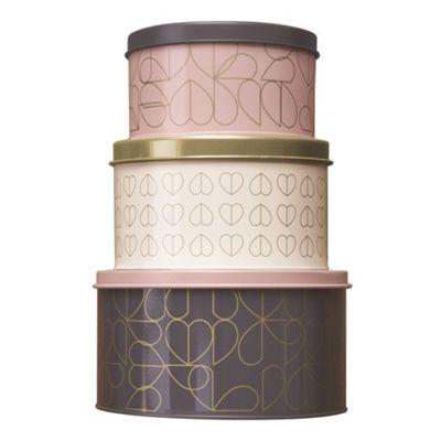 Beau & Elliot Champagne Edit Set of 3 Nesting Tins