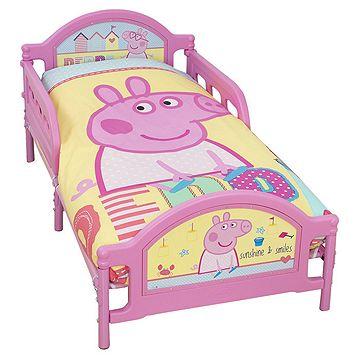 Peppa Pig Toddler Junior Bed