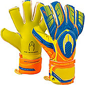 Ho Ghotta Hybrid Roll/Neg Junior Goalkeeper Gloves - Green