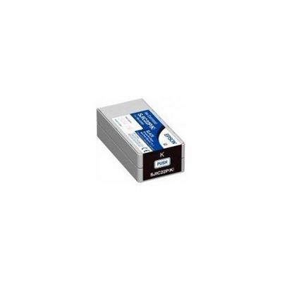 Epson SJIC22P(C): Ink cartridge for TM-C3500 (Black) C33S020601