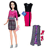 Barbie Fashionistas Chic with a Wink Doll with Fashion Outfits