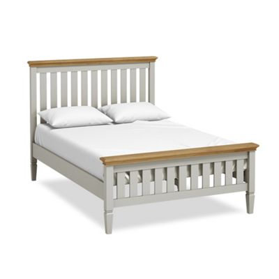 Normandy Painted Slatted Bed 4'6