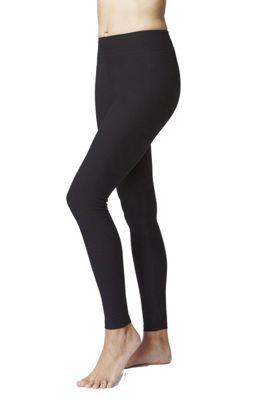 Women's Slimming Shaping Yoga Leggings Regular Length Black-M