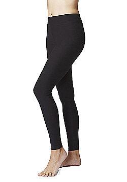 Women's Slimming Shaping Yoga Leggings - Regular Length - Black