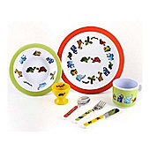 MELAMINE SET - Jungle Friends