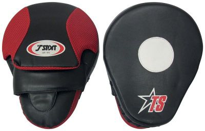 T-Sport Curved Focus Mitts 10