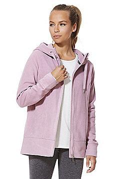 F&F Active Hooded Fleece - Lilac