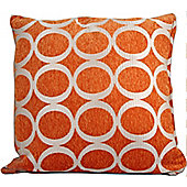 "Oh 18"" Cushion Cover - Orange"