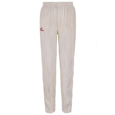 Woodworm Pro Select Cricket Trousers Cream- Small