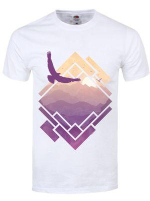 Raven Sunrise White Men's T-shirt