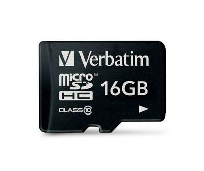 Verbatim microSDHC 16GB Class 10 Card