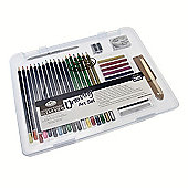 Royal Small Clear Case Art Sets - Drawing