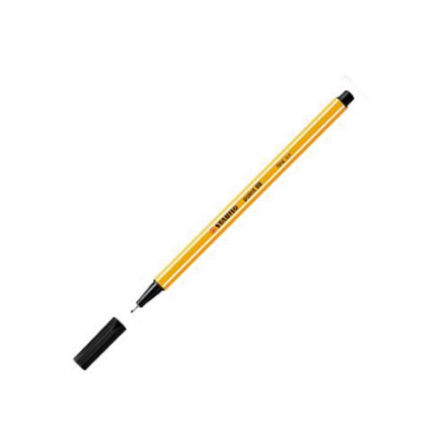 Stabilo Point 88 Fineliner Pen Black 46