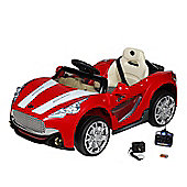12V Maserati Style Ride On Car Red