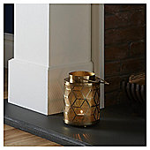Fox & Ivy Geo Metal Lantern