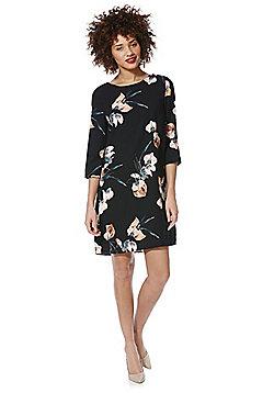 Vero Moda Elsie Floral Dress - Black