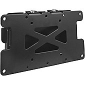 Black Flat Fixed LCD Wall Mount Plate 10 inch - 30 inch TV s