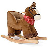 Plush Rocking Horse With Seat